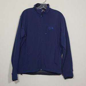 Mountain Hardwear Soft Shelf Blue Mens jacket